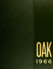 1966 Edition, Dondero High School - Oak Yearbook (Royal Oak, MI)