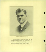 Page 8, 1919 Edition, Marquette High School - Tatler Yearbook (Marquette, MI) online yearbook collection