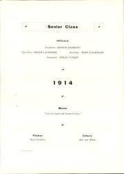 Page 31, 1914 Edition, Owosso High School - Spic Yearbook (Owosso, MI) online yearbook collection