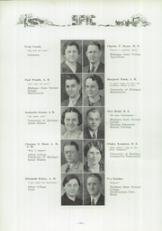 Page 14, 1936 Edition, Owosso High School - Spic Yearbook (Owosso, MI) online yearbook collection