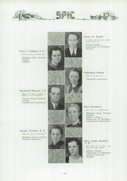 Page 16, 1936 Edition, Owosso High School - Spic Yearbook (Owosso, MI) online yearbook collection