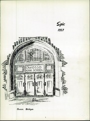 Page 5, 1957 Edition, Owosso High School - Spic Yearbook (Owosso, MI) online yearbook collection