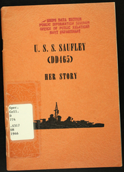 1946 Edition, Saufley (DD 465) - Naval Cruise Book