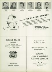 Page 208, 1958 Edition, Benton Harbor High School - Greybric Yearbook (Benton Harbor, MI) online yearbook collection