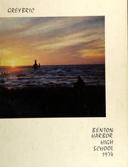 1974 Edition, Benton Harbor High School - Greybric Yearbook (Benton Harbor, MI)