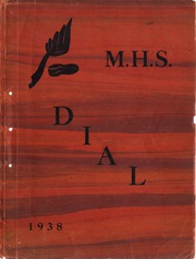 1938 Edition, Douglas MacArthur High School - Itella Yearbook (Saginaw, MI)