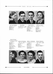 Page 17, 1938 Edition, Douglas MacArthur High School - Itella Yearbook (Saginaw, MI) online yearbook collection
