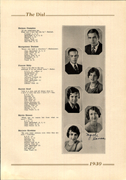 Page 15, 1930 Edition, Marshall High School - Dial Yearbook (Marshall, MI) online yearbook collection