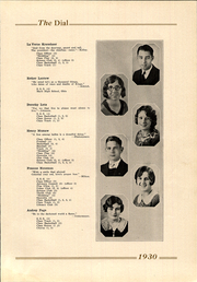 Page 17, 1930 Edition, Marshall High School - Dial Yearbook (Marshall, MI) online yearbook collection