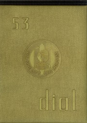 1953 Edition, Marshall High School - Dial Yearbook (Marshall, MI)