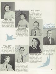 Page 17, 1955 Edition, Marshall High School - Dial Yearbook (Marshall, MI) online yearbook collection