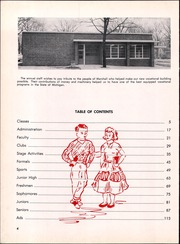 Page 8, 1956 Edition, Marshall High School - Dial Yearbook (Marshall, MI) online yearbook collection