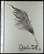 1976 Edition, Marshall High School - Dial Yearbook (Marshall, MI)