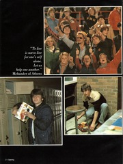 Page 6, 1980 Edition, Marshall High School - Dial Yearbook (Marshall, MI) online yearbook collection