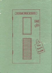 1983 Edition, Dundee High School - Tempus Yearbook (Dundee, MI)