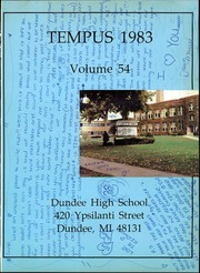 Page 5, 1983 Edition, Dundee High School - Tempus Yearbook (Dundee, MI) online yearbook collection