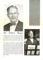 Page 12, 1962 Edition, Berkley High School - Bear Tracks Yearbook (Berkley, MI) online yearbook collection
