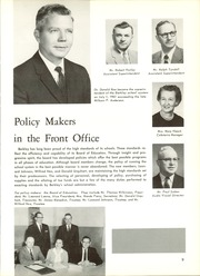 Page 13, 1962 Edition, Berkley High School - Bear Tracks Yearbook (Berkley, MI) online yearbook collection