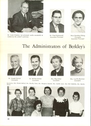 Page 14, 1962 Edition, Berkley High School - Bear Tracks Yearbook (Berkley, MI) online yearbook collection