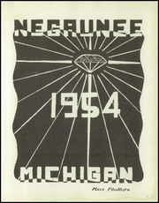 Page 5, 1954 Edition, Negaunee High School - Pioneer Yearbook (Negaunee, MI) online yearbook collection