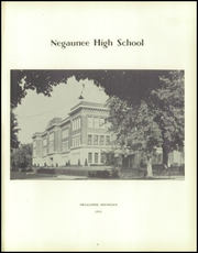 Page 5, 1955 Edition, Negaunee High School - Pioneer Yearbook (Negaunee, MI) online yearbook collection