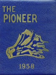 1958 Edition, Negaunee High School - Pioneer Yearbook (Negaunee, MI)