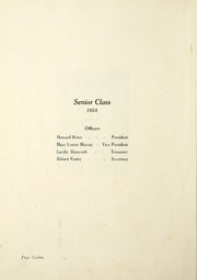 Page 16, 1924 Edition, Highland Park High School - Polar Bear Yearbook (Highland Park, MI) online yearbook collection