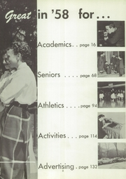 Page 7, 1958 Edition, Highland Park High School - Polar Bear Yearbook (Highland Park, MI) online yearbook collection