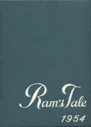 1954 Edition, Rockford High School - Rams Tale Yearbook (Rockford, MI)