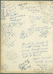 Page 2, 1954 Edition, Rockford High School - Rams Tale Yearbook (Rockford, MI) online yearbook collection