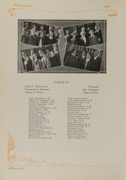Page 10, 1927 Edition, Central High School - Prospectus Yearbook (Flint, MI) online yearbook collection