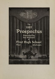 Page 7, 1927 Edition, Central High School - Prospectus Yearbook (Flint, MI) online yearbook collection