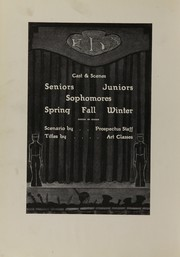 Page 8, 1927 Edition, Central High School - Prospectus Yearbook (Flint, MI) online yearbook collection
