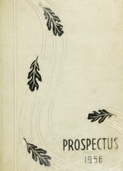 1956 Edition, Central High School - Prospectus Yearbook (Flint, MI)