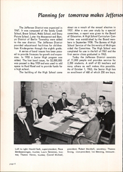 Page 10, 1966 Edition, Jefferson High School - Archives Yearbook (Monroe, MI) online yearbook collection