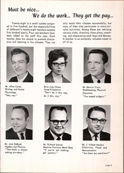 Page 13, 1966 Edition, Jefferson High School - Archives Yearbook (Monroe, MI) online yearbook collection