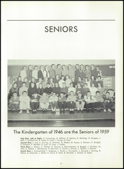 Page 13, 1959 Edition, Everett High School - Archives Yearbook (Lansing, MI) online yearbook collection