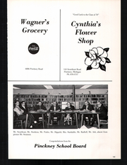 Page 169, 1970 Edition, Pinckney High School - Pirate Log Yearbook (Pinckney, MI) online yearbook collection