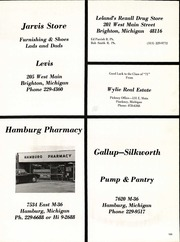 Page 157, 1971 Edition, Pinckney High School - Pirate Log Yearbook (Pinckney, MI) online yearbook collection