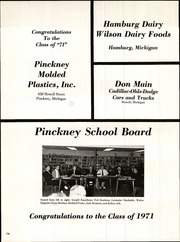 Page 160, 1971 Edition, Pinckney High School - Pirate Log Yearbook (Pinckney, MI) online yearbook collection