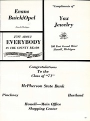 Page 161, 1971 Edition, Pinckney High School - Pirate Log Yearbook (Pinckney, MI) online yearbook collection