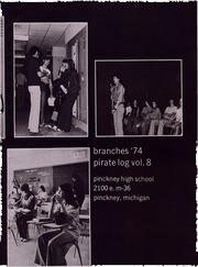 Page 7, 1974 Edition, Pinckney High School - Pirate Log Yearbook (Pinckney, MI) online yearbook collection