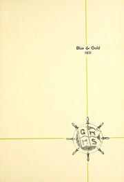 Page 5, 1931 Edition, Grand Haven Senior High School - Blue and Gold Yearbook (Grand Haven, MI) online yearbook collection
