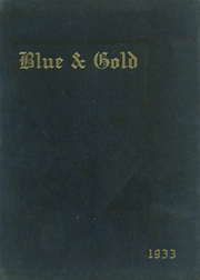 Page 1, 1933 Edition, Grand Haven Senior High School - Blue and Gold Yearbook (Grand Haven, MI) online yearbook collection