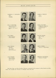 Page 17, 1938 Edition, Grand Haven Senior High School - Blue and Gold Yearbook (Grand Haven, MI) online yearbook collection