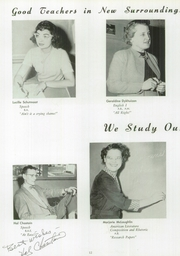 Page 16, 1954 Edition, Grand Haven Senior High School - Blue and Gold Yearbook (Grand Haven, MI) online yearbook collection