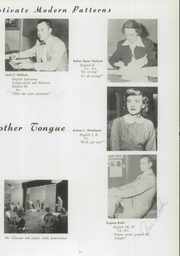 Page 17, 1954 Edition, Grand Haven Senior High School - Blue and Gold Yearbook (Grand Haven, MI) online yearbook collection