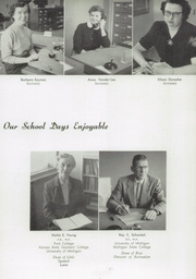 Page 17, 1955 Edition, Grand Haven Senior High School - Blue and Gold Yearbook (Grand Haven, MI) online yearbook collection