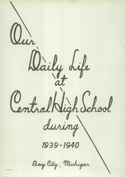 Page 5, 1940 Edition, Central High School - Centralia Yearbook (Bay City, MI) online yearbook collection