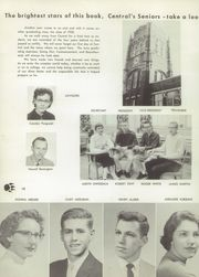 Page 16, 1958 Edition, Central High School - Centralia Yearbook (Bay City, MI) online yearbook collection